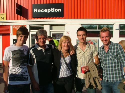 Westlife at Ashton Gate Stadium