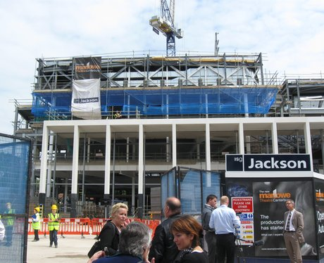 Marlowe Theatre Topping Out Ceremony