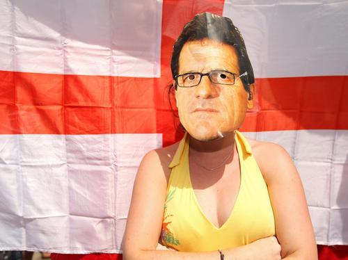 England fans in London