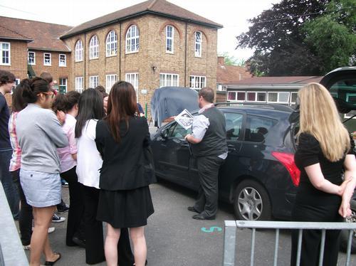 Megadrive visits St Francis' College, Letchworth