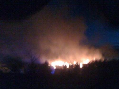 Premier Inn fire, by Daniel Somerton in Brackley