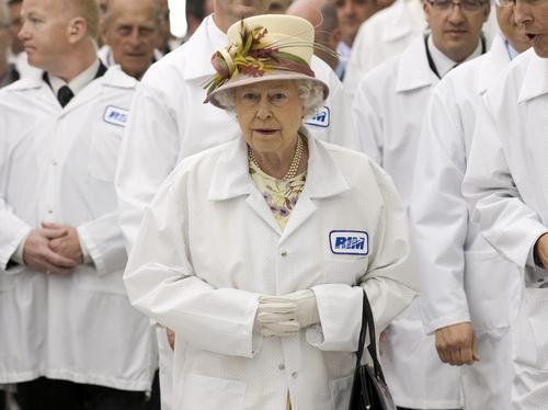 Queen in Canada