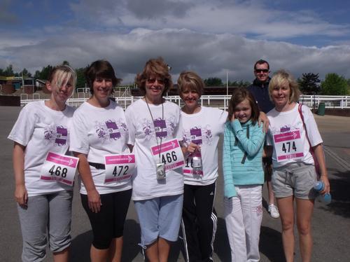 Race For Life - Chelt Sun