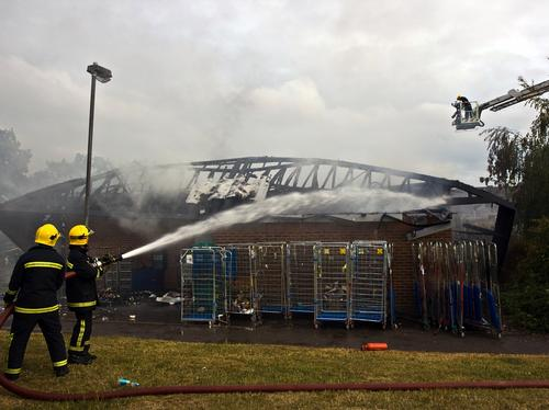 Tesco Fire