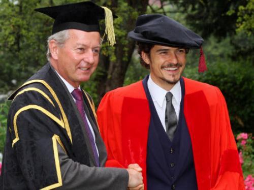 Orlando Bloom honorary degree