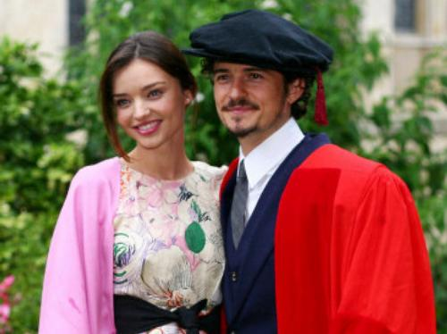 Orlando Bloom honorary degree
