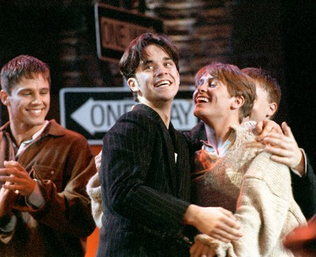 Take That at the 1993 Smash Hits Poll Winners Party
