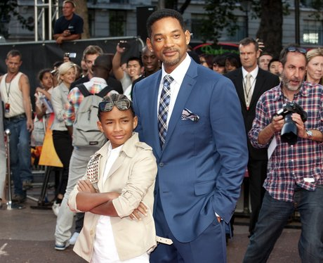 Will Smith and son Jaden Smith at Premiere of The Karate Kid, London