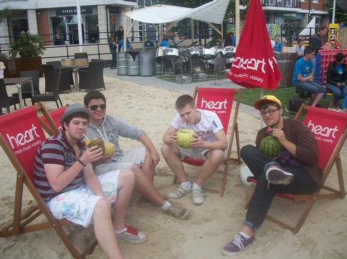 Gunwharf Beach - Steal my Sunshine