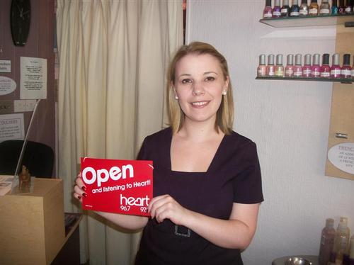 Have you got an Open/Closed door sign in your shop