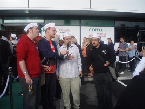 Krispy Kreme Avonmeads Retail Park Opening