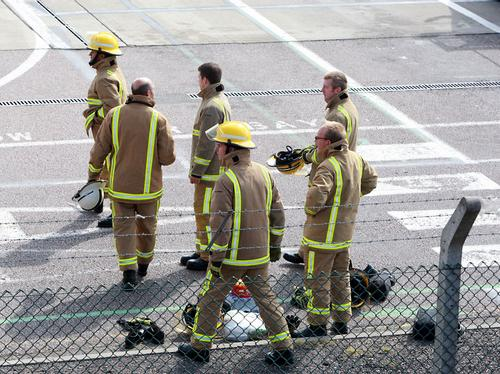 Luton Airport Security Scare