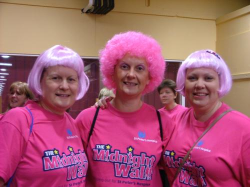 St Peters Hospice Midnight Walk 2010