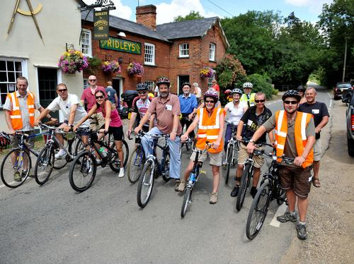 Cycling in Great Waltham