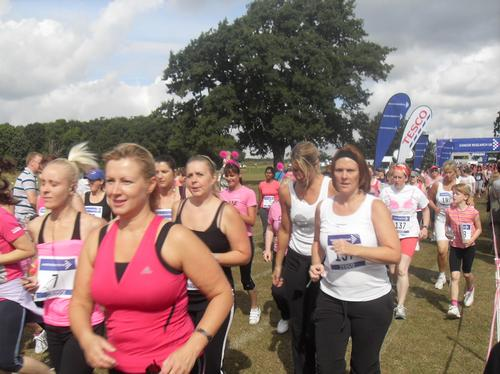 Swindon Race For Life. Saturday 24th July