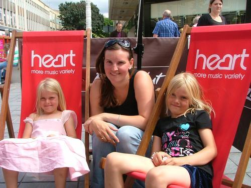 Heart Angels at Pizza Hut