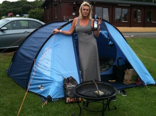 Paulina's camping holiday pictures