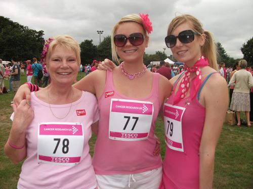 Race for Life Essex Uni