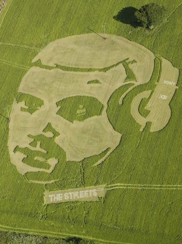 Crop Circles - Jesus in a Crop Circle? - Heart