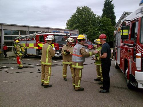 Fire Service Crash Exercise