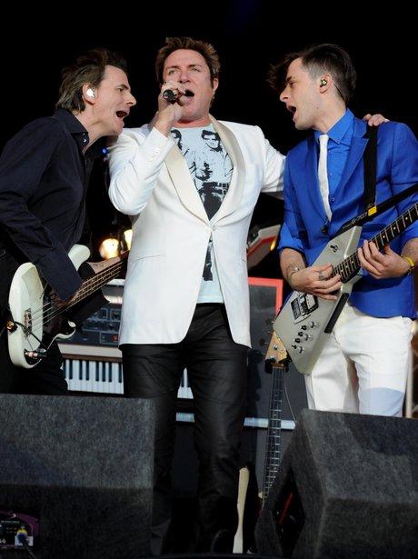 Duran Duran onstage