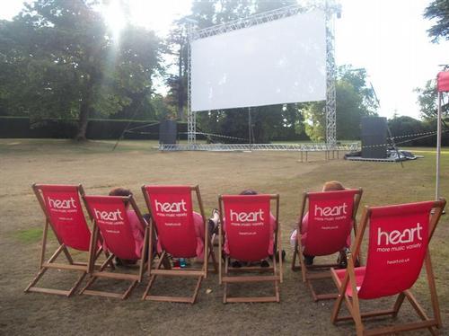 Lulworth Open Air Cinema