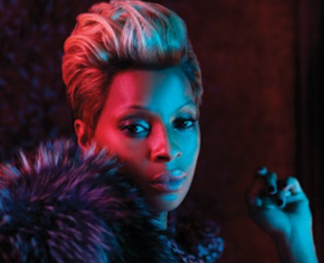 Mary J Blige with a quiff