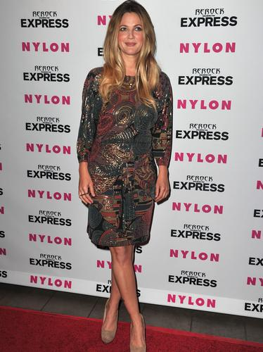 Nylon and express denim issue party