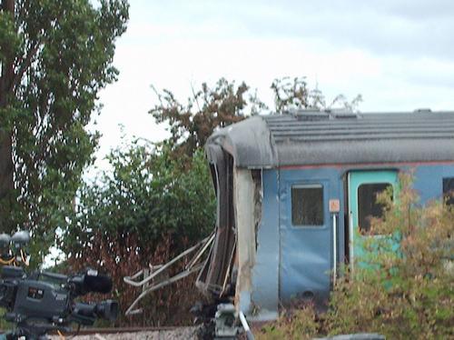 Great Cornard Train Crash