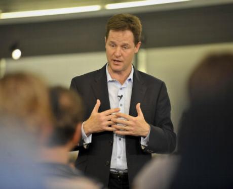 In pictures: Nick Clegg meets... Bristol