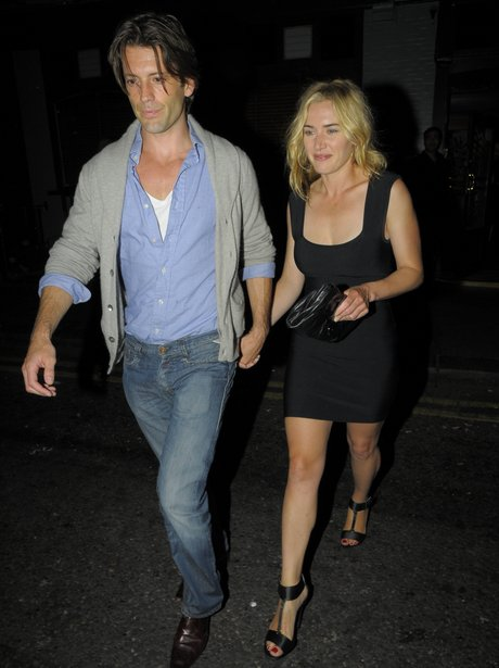 Kate Winslet with new boyfriend Louis Dowler