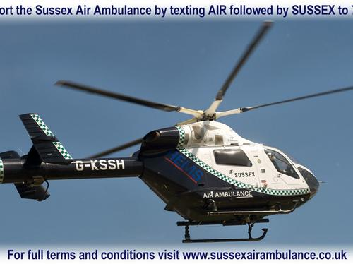 Air Ambulance Text Campaign
