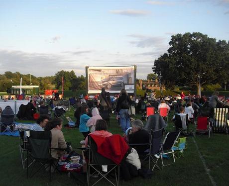 Ford Galaxy Summer Cinema