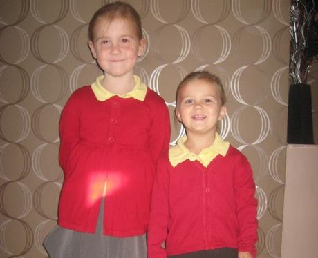 Heart Class of 2010 - Amy and Elise Aged 6 & 3