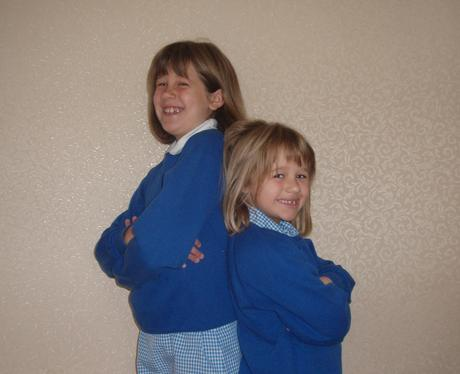Heart Class of 2010 - Lucy and Kate Aged 9 & 7