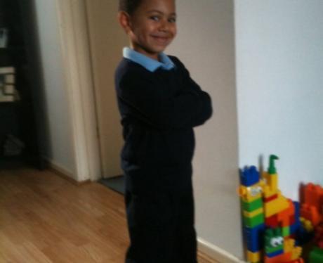 Heart Class of 2010 - Kadee Aged 4
