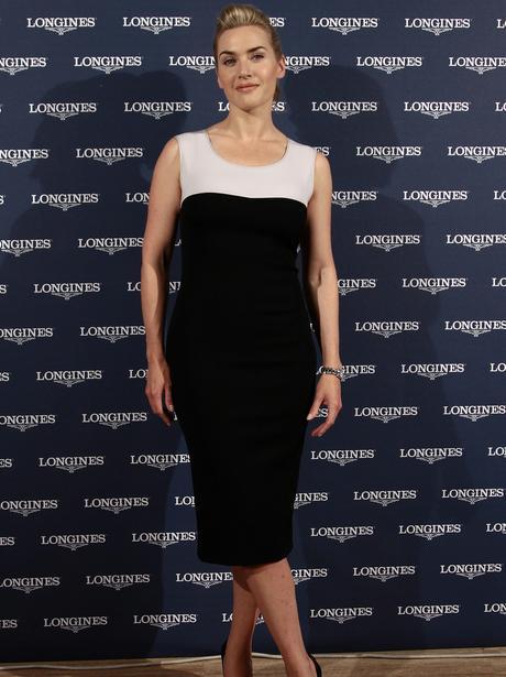 British actress Kate Winslet