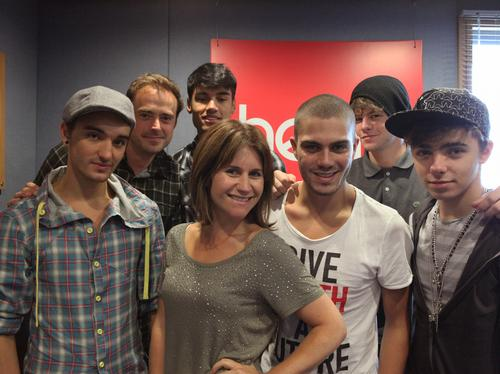 The Wanted on Heart Breakfast
