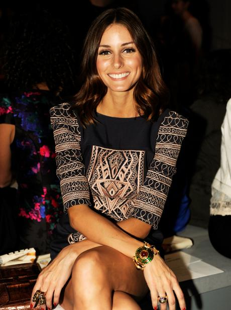 Celebrities at New York Fashion Week
