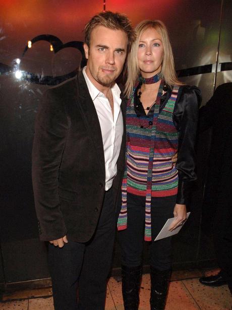 Dawn Barlow and Gary Barlow