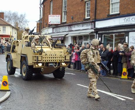 RAF honnington troops get medals