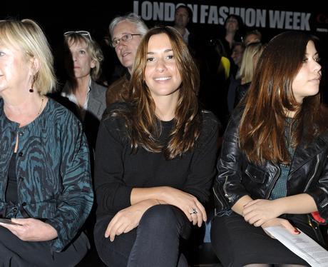 Celebrities at London Fashion Week