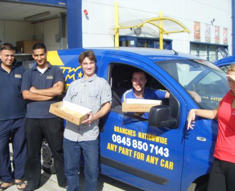David And His Colleagues From Euro Car Parts In Watford Heart
