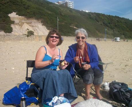 Ice Creams on the Beach