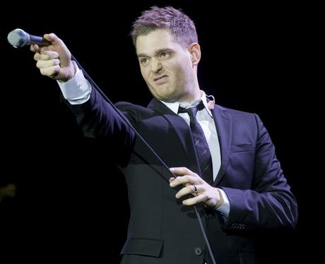 Michael Bublé on tour - Micheal Bublé in pictures - Heart
