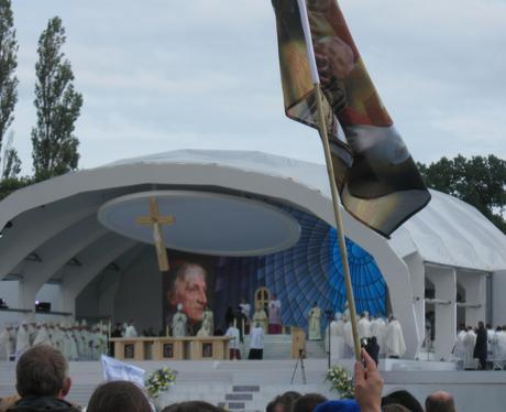 Pope at Cofton Park