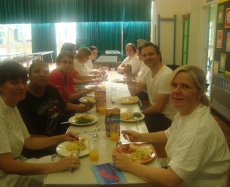 School Dinners at Dr Radcliffes School