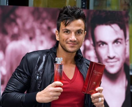 peter andre launches new perfume