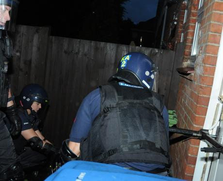 Kent Drug Raids