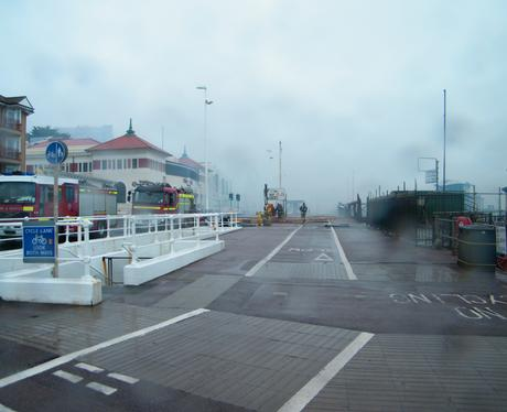 Pictures of the fire at Hastings Pier